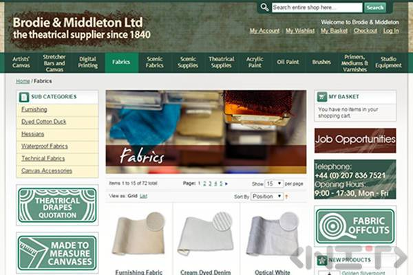 Online store development for Brodie&Middleton Ltd by NIT-New Internet Technologies Ltd._2