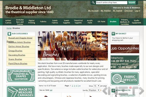 Online store development for Brodie&Middleton Ltd by NIT-New Internet Technologies Ltd._3